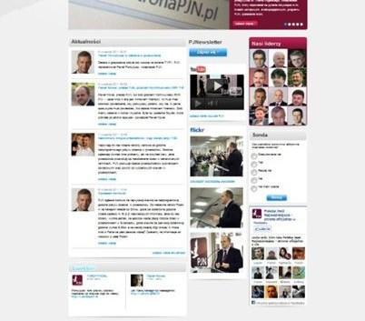 PJN - strona internetowa start
