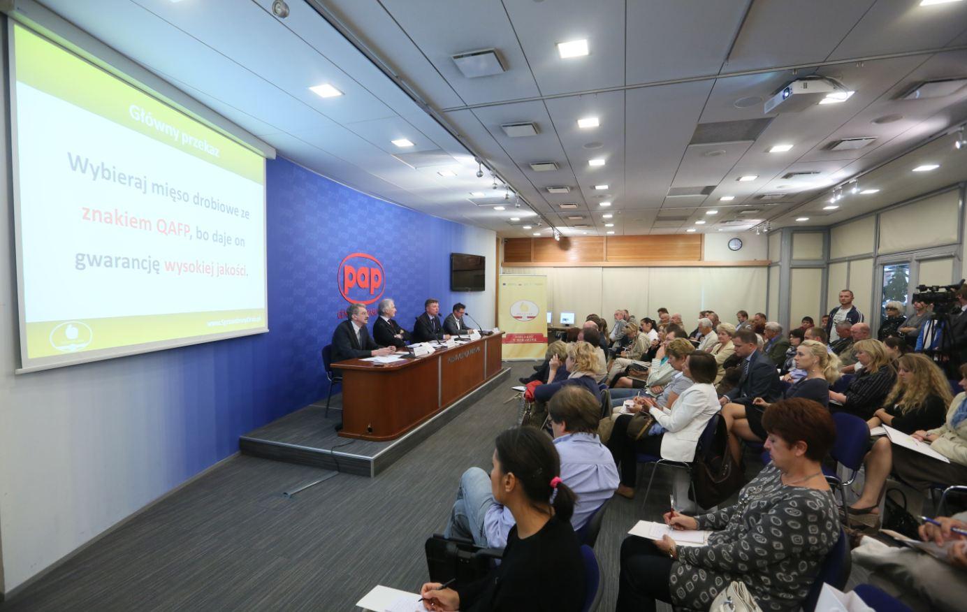 Konferencja Prasowa - Drobiowa ofensywa - wrzesień 2012 (zdjęcie PAP)