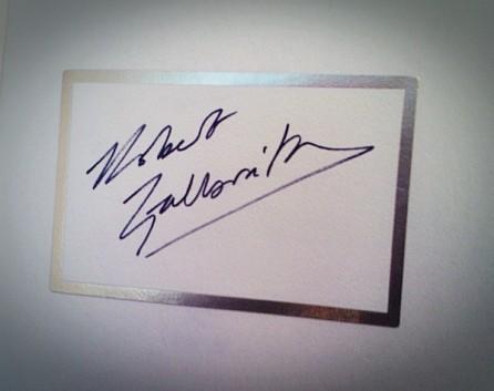 Robert Galbraith - autograf